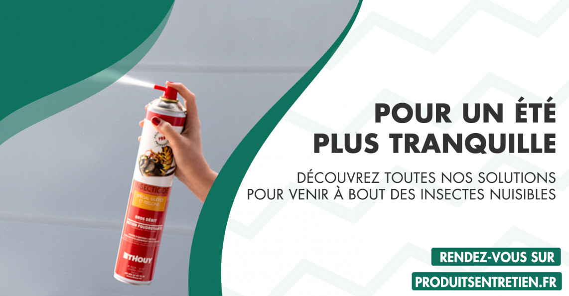 Gamme d'insecticides Thouy