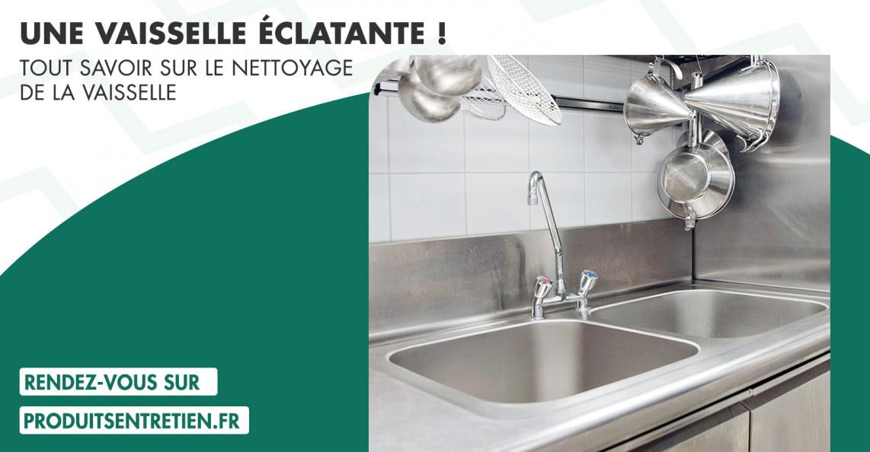 Conseils pour le lavage de la vaisselle professionnelle