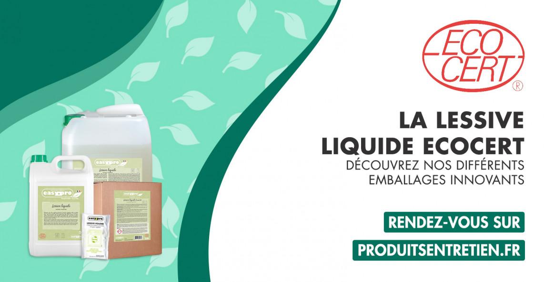 Lessives liquides certifiées Ecocert Thouy