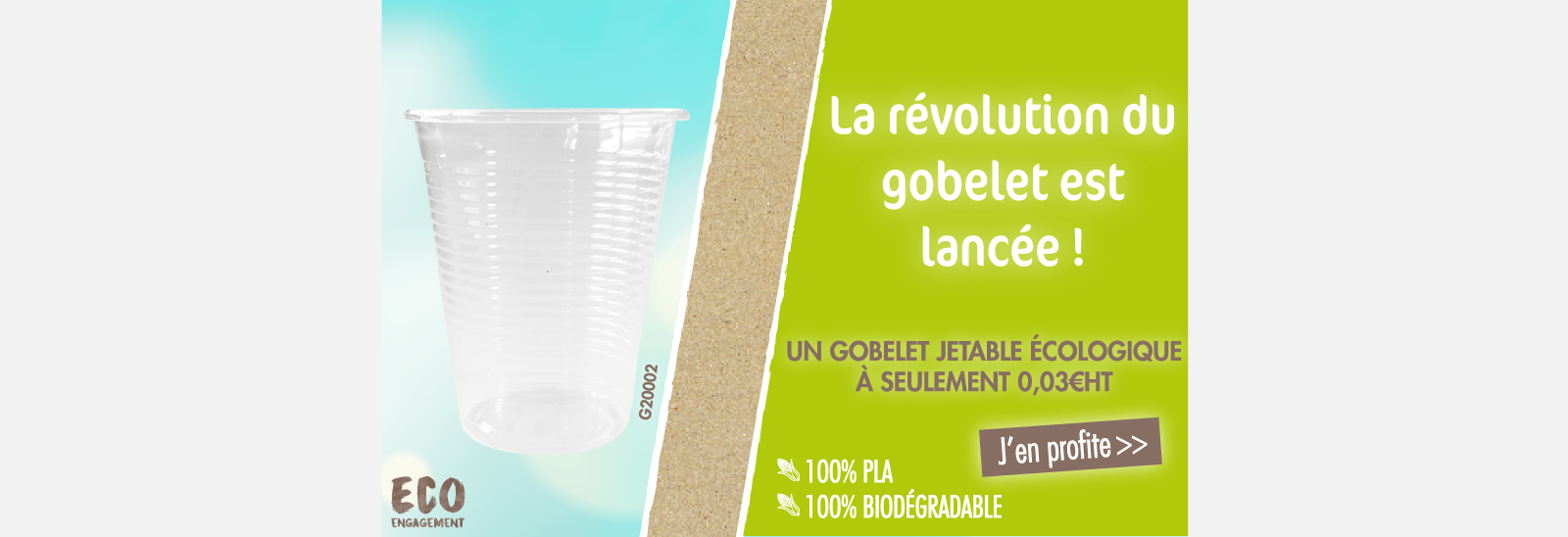 La révolution du gobelet : G20002