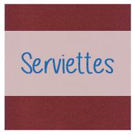 serviette jetable