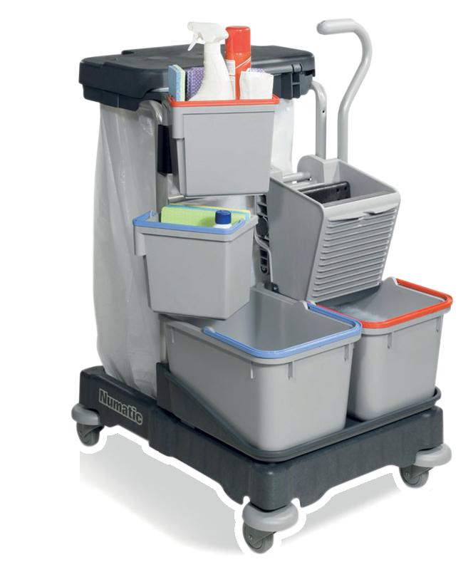 Chariot de lavage très compact E80005-F