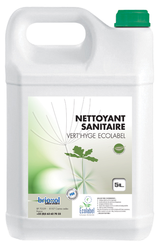 Nettoyant sanitaires Ecolabel Brioxol 5 L B26276