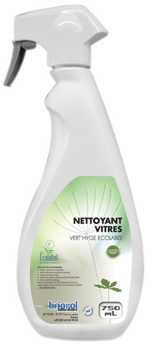 Spray nettoyant vitres Ecolabel 750 mL B26281
