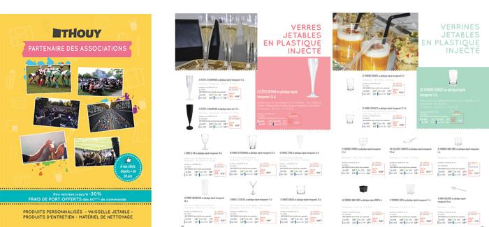 Catalogue général Thouy 2018 : vaisselle jetable et produits d'entretien